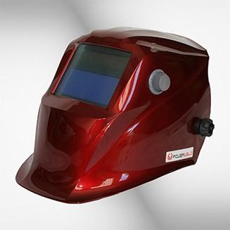 Schweißhelm 5600G red