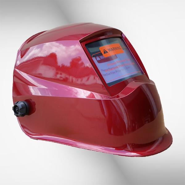 Schweißhelm 2616G+ red 2