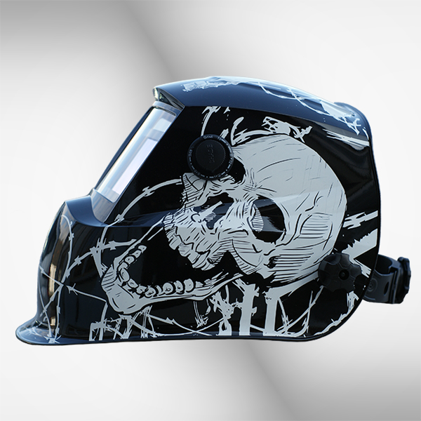 Schweißhelm 2718G+ skull 3