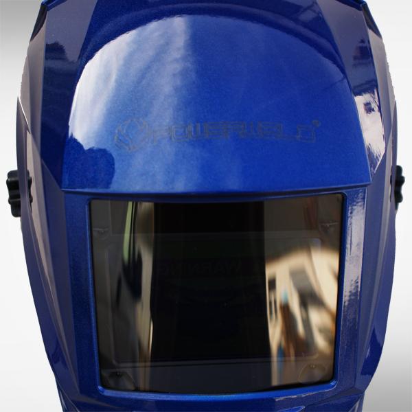 Schweißhelm 8111B blue 2