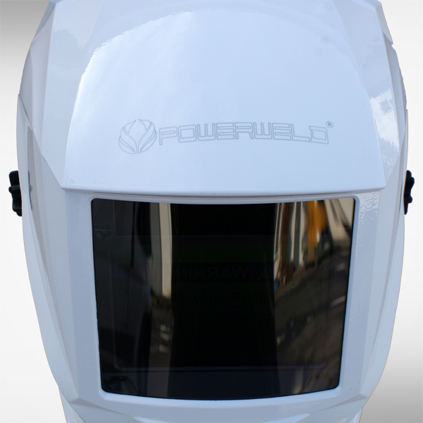 Schweißhelm 8111B white 2